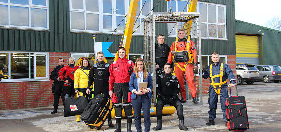Skills training gives new depth to Northern Diver || Lancashire Skills Hub