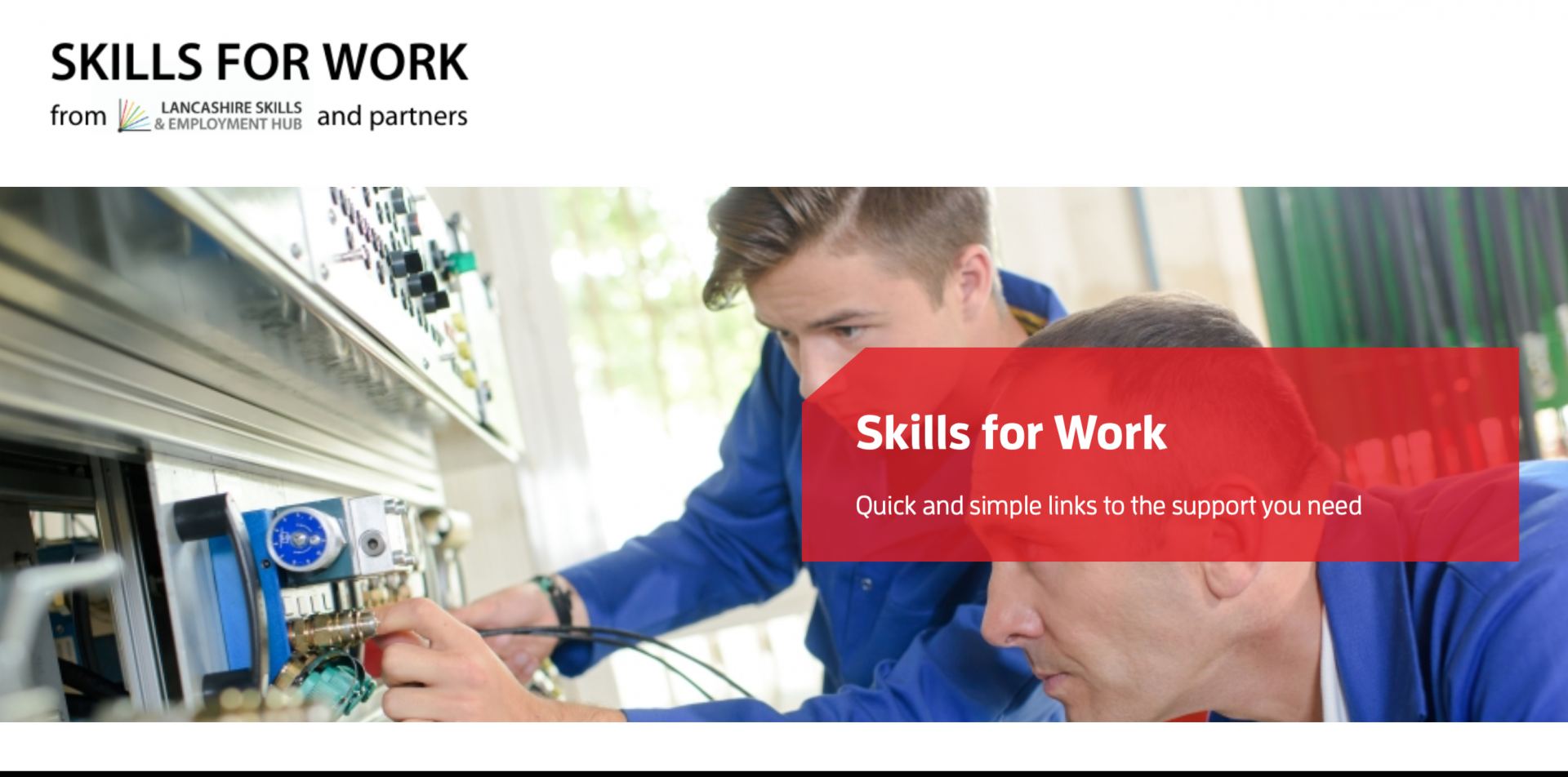 skills for work homepage
