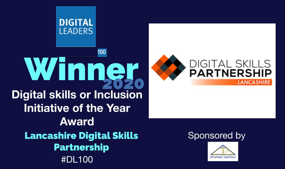 Winner slide Digital Leaders